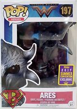 "ARES DC Wonder Woman Pop Heroes 4"" Vinyl Figure 197 Comic Con TRU Exclusive 2017"