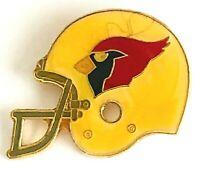 Vintage 1984 NFL Arizona Cardinals Football Big Helmet Pin #18 by Peter David