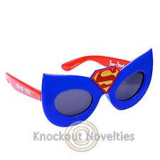 Sun-Staches Kids - Super Girl Funny Novelty Silly Sunglasses Sun Glasses Gift