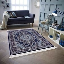 Luxury Isfahan Carpets Small & Large Thick Modern Plain Soft Area Rugs All Sizes
