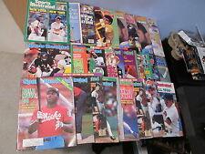 29 Vintage 1986 1987 Sports Illustrated Magazines Jackson Clemens Walter Payton