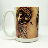 Celtic Witch Jessica Galbreth Artist Cuppa Mug 15 Oz. Coffee Tea Cup Mug