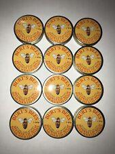 (12) Burt's Bees Beeswax Lip Balm Tin (0.3 Oz) Manufactured 2018
