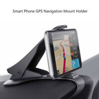 Car Dashboard Mount Holder Stand Bracket Clamp For iPhone Mobile Phone GPS Clip