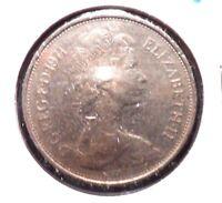 CIRCULATED 1971 10 NEW PENCE UK COIN! (41615)