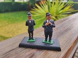 Cameo miniatures/Laurel et Hardy painted/ peint /54mm no 90mm 75m pegaso andrea