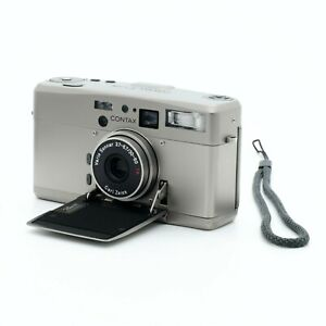 Contax TVS III 35mm Point & Shoot Film Camera