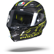 AGV 216021a0hy-004 Helmet Full Face PISTA GP R Top Project 46 3.0 Carbon Ml
