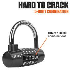 Bv Alloy Combination Padlock Safety Lock 5 Digit For Gym Locker Amp Toolbox Closet