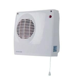 2000W Fan Downflow Heater Pull Cord & 2 Heat Settings for Conservatory
