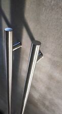 Modern Storefront Door Pull Handles Tubing Stainless Steel For Entry/Glass Door
