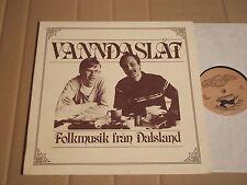 VANNDASLAT - FOLKMUSIK FRAN DALSLAND - LP - HARMONICA GRAMMOFON HRMLP-1