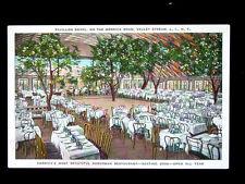 c.1920 Dining Room Pavillon Royal Merrick Road Valley Stream LI NY post card