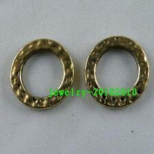80pcs Gold Colour Ring Connectors 13.5x2mm 10192