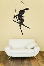 Freestyle Skiing Huge Wall Vinyl Decal,SALOMON,ARMADA,DYNASTAR,Scott,Rossignol