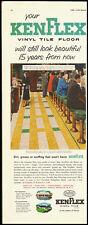 1953 Vintage ad for KEN FLEX Vinyl Tile Floor (010213)
