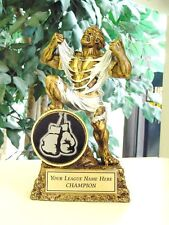 Boxing Fighting Trophy Award Resin Monster Free Engraving *