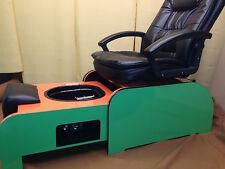 Pedicure chair & Footsie bath tub no plumbing + 10 liners