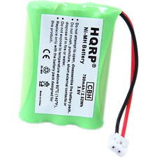 HQRP Battery for Sanik 3SN-AAA55H-S-J1 3SN-AAA60H-S-J1 Cordless Phone