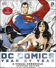 Dc Comics Year by Year A Visual Chronicle by Matthew K. Manning Hardcover Book