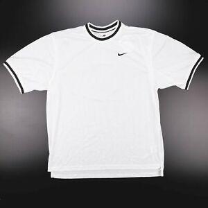 NIKE  White Sports Short Sleeve Jersey Mens L