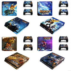 Ratchet and Clank Vinyl Decal Skin Stickers for Sony PlayStation 4 Slim