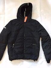 Superdry POLAR SPORTS Winter jacket black/cobalt Size XL