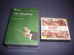 Teaching Co Great Courses  CDs  :         THE  SYMPHONY      new + BONUS