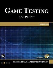 Game Testing: All in One, Bryant, Robert Denton, Schultz, Charles P.  Book