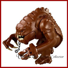 Rancor Large Star Wars Minifigure +Stand for Lego Figures Jabba Sith Jedi FastSh