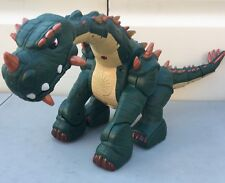 Fisher-Price Imaginext SPIKE The Ultra Dinosaur No Remote Battery, Charger