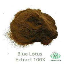 100X Blauer Lotus KONZENTRAT PULVER (Nymphaea caerulea - Blue Lotus Extract) 5g