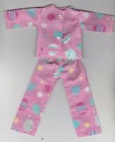 Doll Clothes-EASTER Eggs Print Pajamas that fit Barbie-Homemade BP4