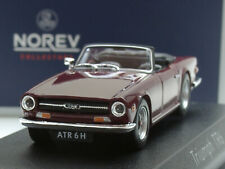 "Norev Triumph TR6, 1970, ""damson red"" - 350092 - 1:43"