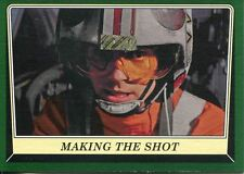 Star Wars Rogue One Mission Briefing Green Base Card #65 Making the Shot