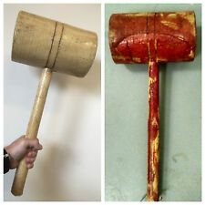 REALISTIC FOAM LATEX XL LARGE CLOWN MALLET HALLOWEEN HORROR MOVIE WEAPON PROPS