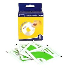 CD/DVD Cleaning Tissues 20pc x 3pks (60 wipes) - 14181146