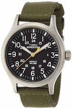 Timex Expedition Men's Quartz Watch with Analogue Display and Leather Strap