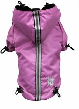 Hip Doggie Puppagonia Small Dog Pink Parka Rain Coat (Fits 18-20 Chest) NWT