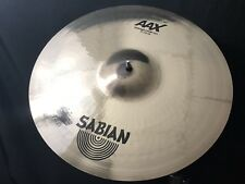 "Sabian 217XBF 17"" AAX Concept Crash Cymbal Brilliant Finish Special Pricing"