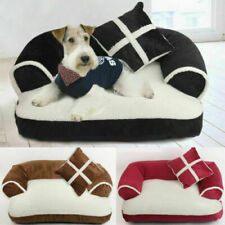 Pet Cat Dog Bed Sofa Chair Mat Kennel Doggy Puppy Cushion Basket Pad Soft Couch