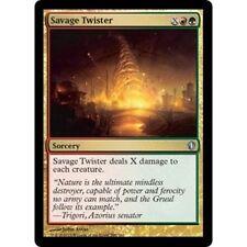 MTG COMMANDER 2013 * Savage Twister x2