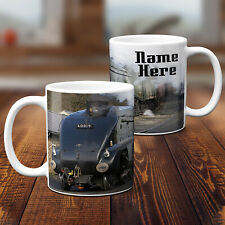 Personalised Train Mug Steam Train Cup Grandad Dad Fathers Day Custom Text Gift