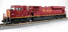 échelle H0 - Kato Locomotive diesel SD90/43 MAC San Luis & Rio Grande 37-6390