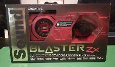 Creative Sound Blaster Zx PCIe Gaming Sound Card + Desktop Audio Control Module