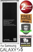 Battery replacement For Samsung Galaxy S5 2800 mAh i9600 G900 EB-BG900