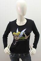 Maglia LIU JO Donna LIU.JO Maglietta T-Shirt LIU-JO Nero Woman Taglia Size XS