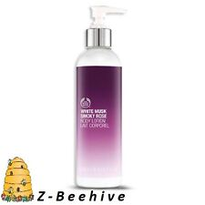 New The Body Shop White Musk Smoky Rose Body Lotion, Huge 8.4 fl oz.