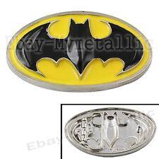 Super Hero Batman Logo Removable Metal Belt Buckle #05