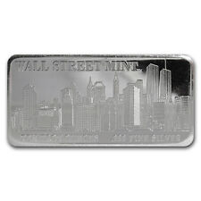 10 oz Silver Bar - Wall Street Mint (Type 1) - SKU #22858